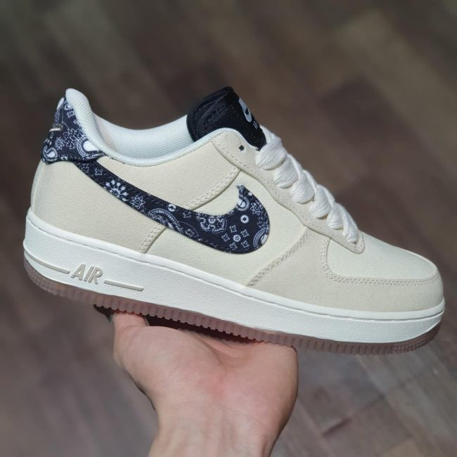 giày Air Force 1 Low Paisley Swoosh