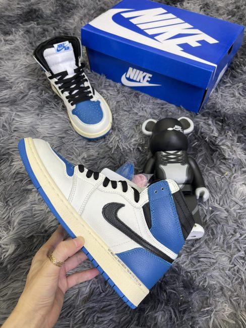 Giày Nike Air Jordan 1 High Travis Scott x Fragment rep 1 1