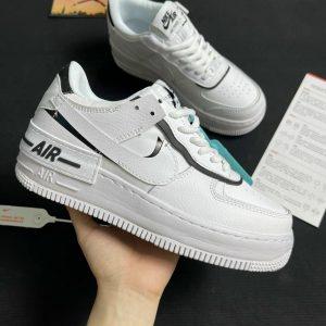 Giày Nike Air Force 1 Shadow Black White Rep 1:1