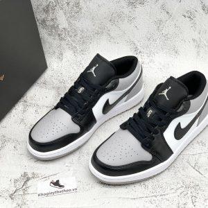 Giày Nike Jordan 1 Low xa�m đen