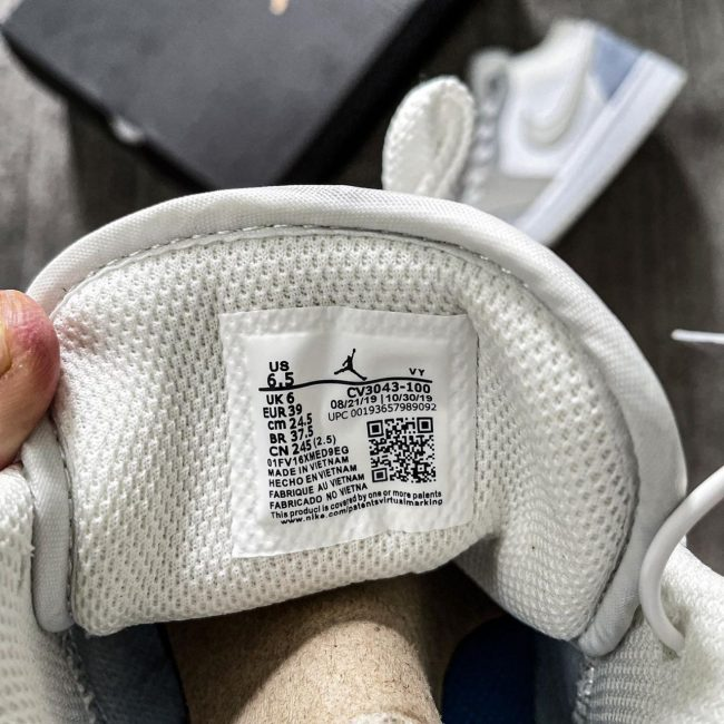Giày Nike Air Jordan 1 Low Paris Siêu Cấp Like Auth