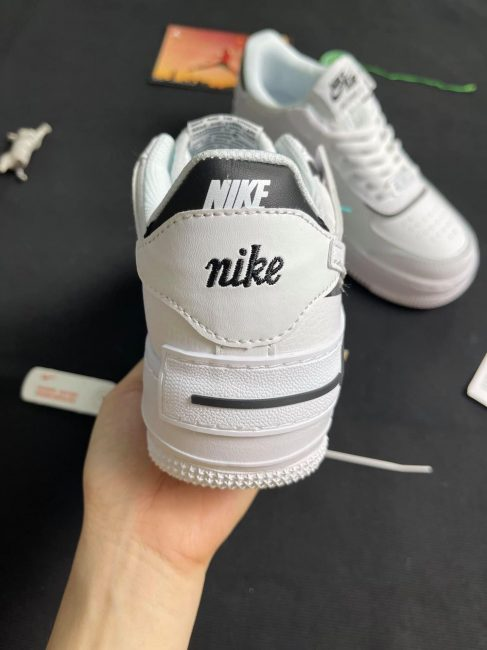 giày nike af1 Shadow Black White