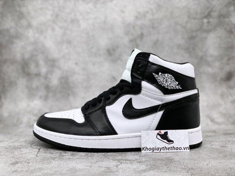 Giày Nike Air Jordan 1 High Đen Trắng