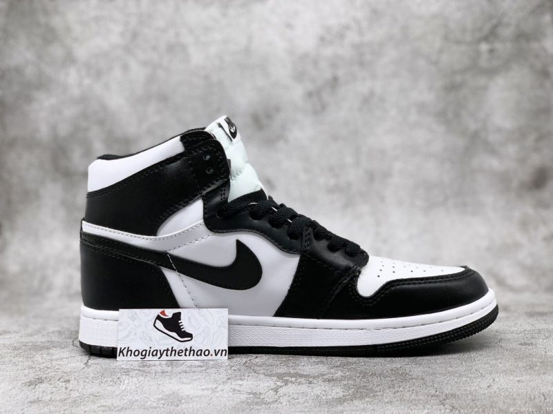 Giày Nike Air Jordan 1 High Black White