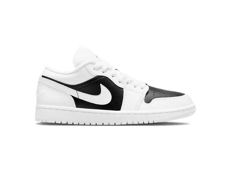 Giày Nike Air Jordan 1 Low Panda Trắng đen Like Auth