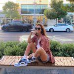 phối đồ với giày nike air jordan 1 cổ cao nữ đẹp hấp dẫn