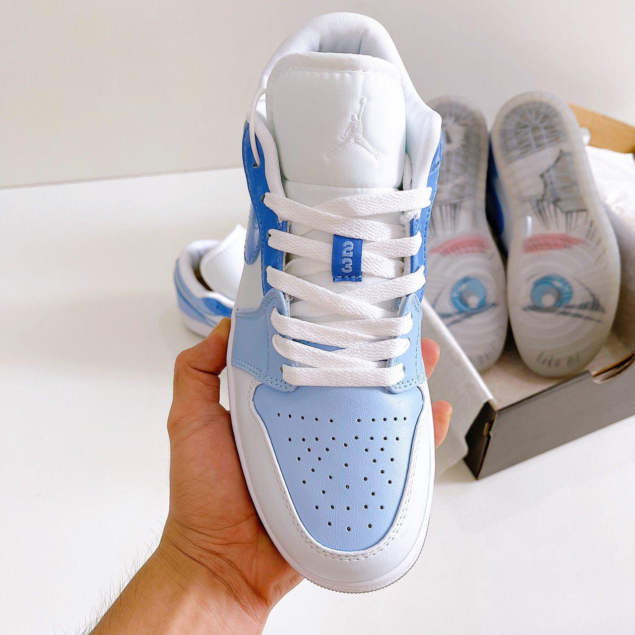 Giày Nike Air Jordan 1 Low Mighty Swooshers Rep 1:1