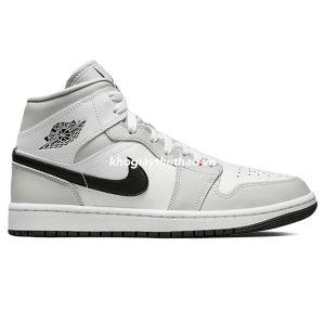 Giày Nike Air Jordan 1 Mid Light Smoke Grey V2 2021
